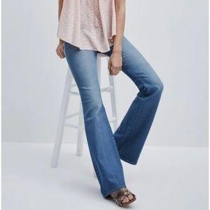 Madewell Flea Market Flare Jeans (Maribel)
